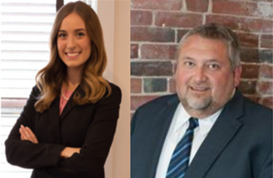 Maine Lawyers Katie Campbell and John Webb
