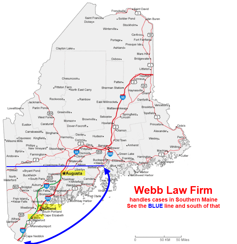 Webb Law Firm Saco ME Portland ME