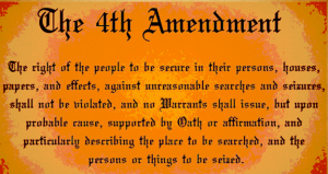US Constitution 4th Amendment